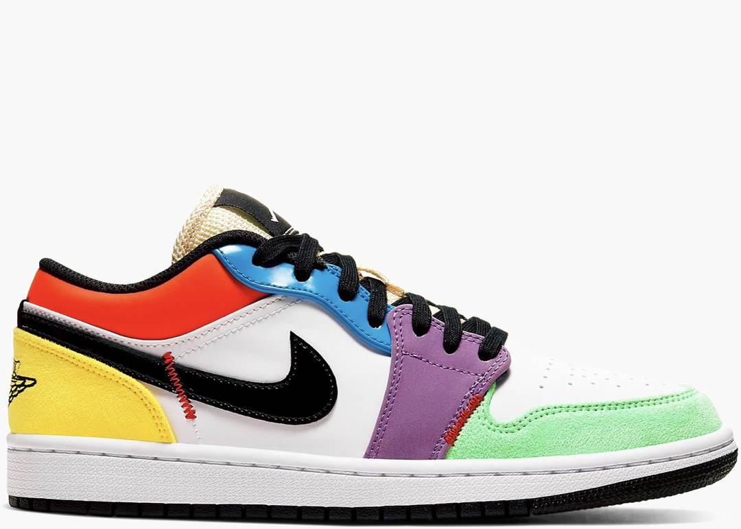 Nike Air Jordan 1 Low Lightbulb Multi Color