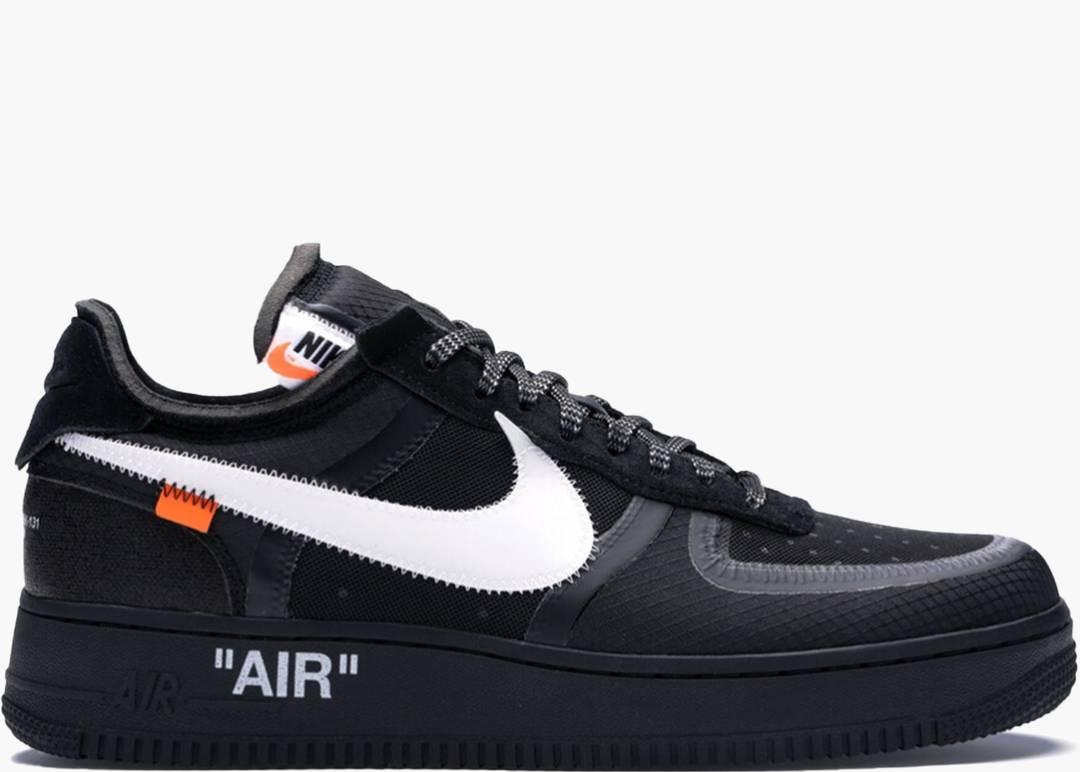 Nike Air Force 1 Low X Off-white Black | Hype Clothinga