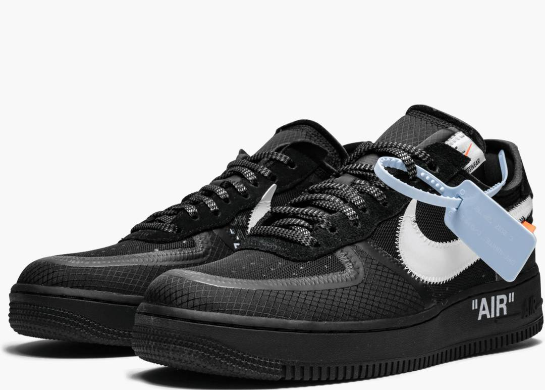 air force 1 low uomo nere