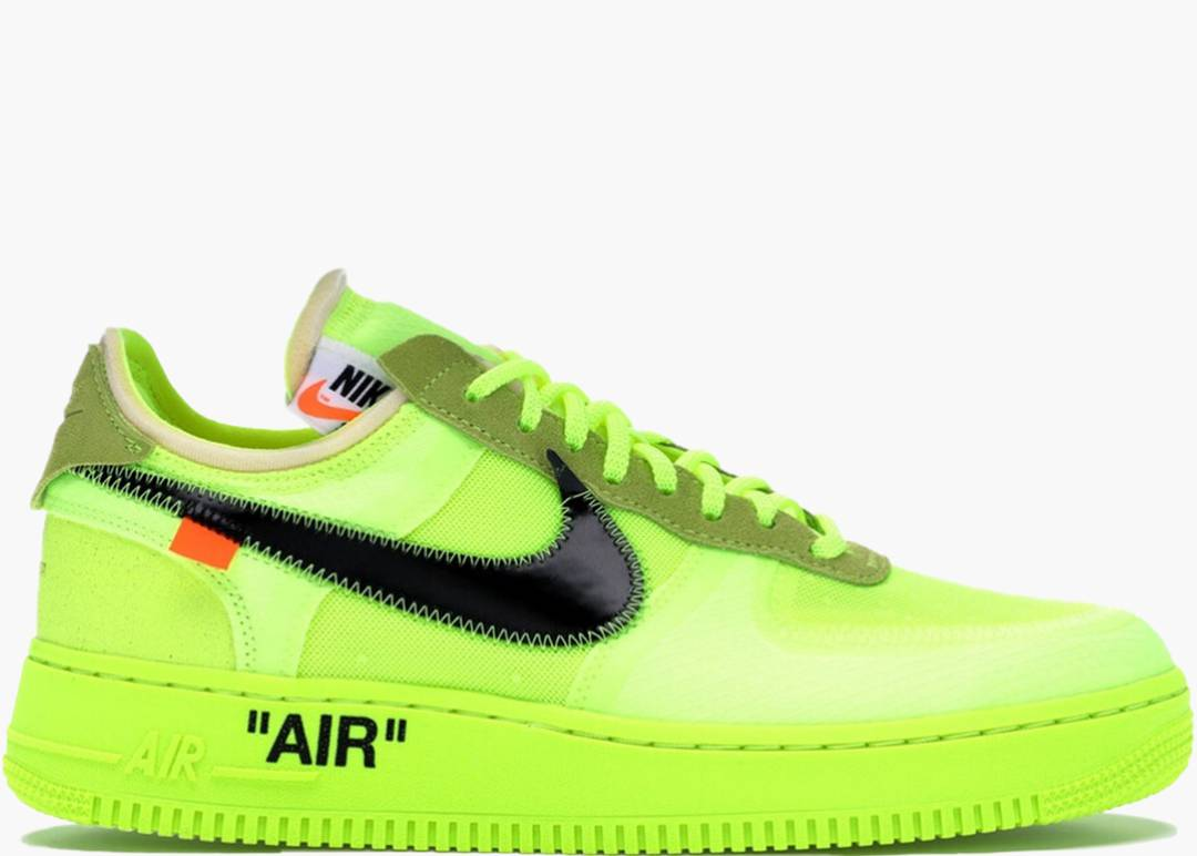 Nike Air Force 1 Low X Off-white Volt | Hype Clothinga
