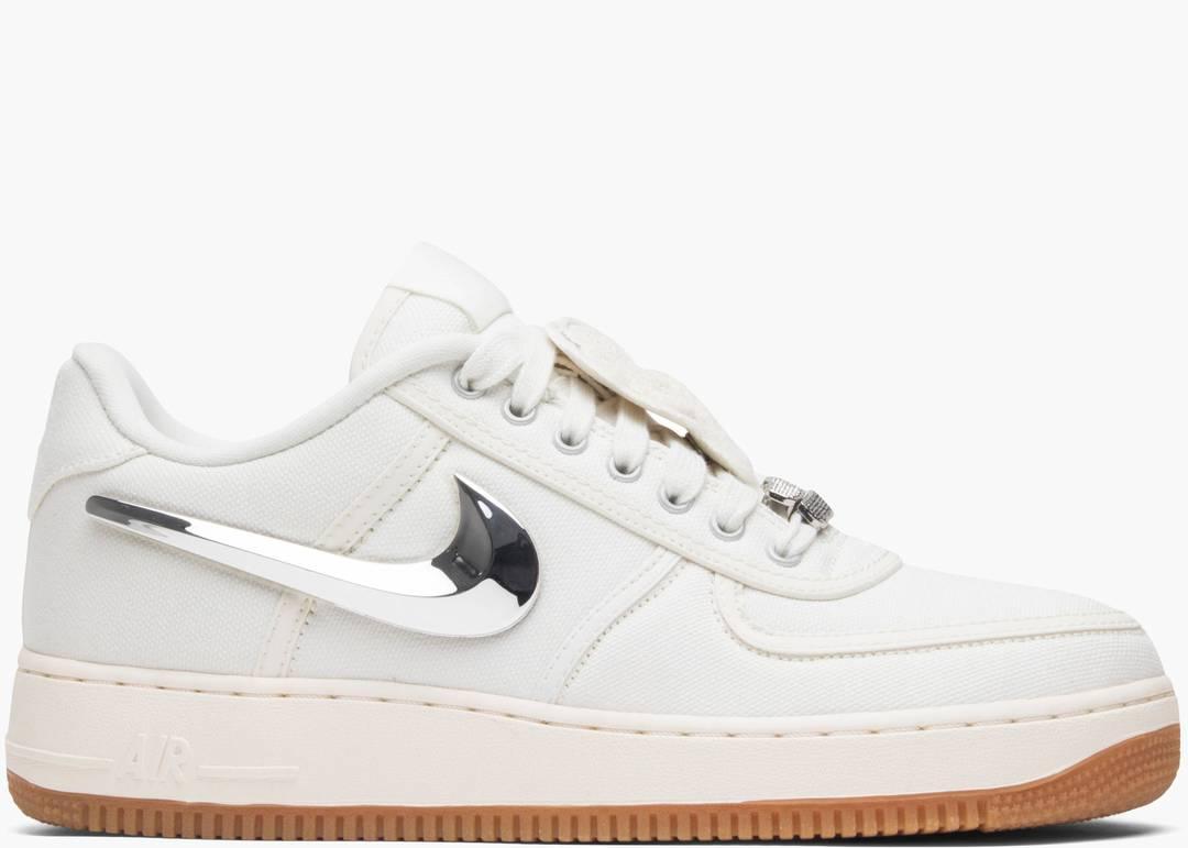 Nike Air Force 1 Low X Travis Scott Sail