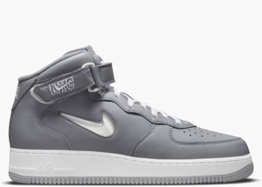 Nike Air Force 1 Mid QS Jewel NYC Cool Grey DH5622-001 Hype Clothinga Limited Edition