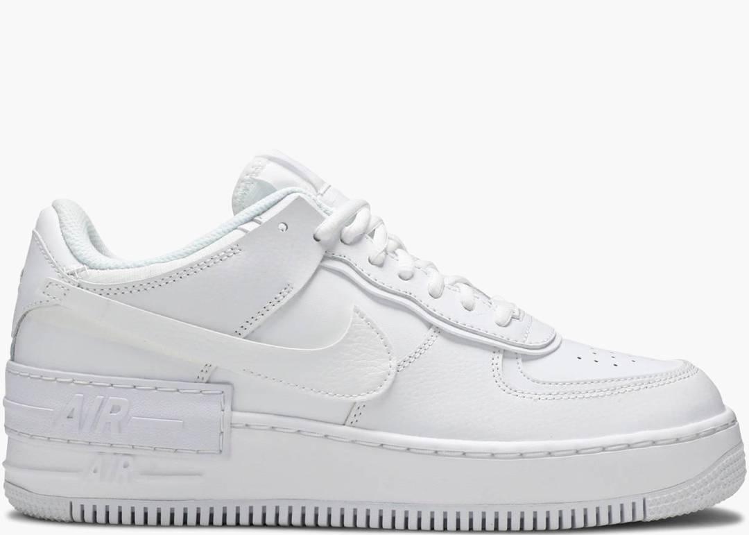 Nike Air Force 1 Shadow Triple White (w)