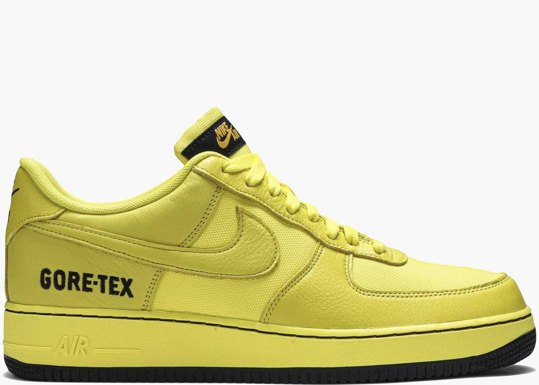 Nike Air Force One Low Gore-tex Dynamic Yellow