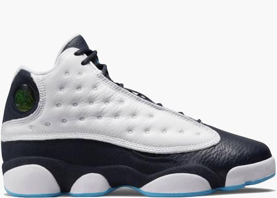 Nike Air Jordan 13 Retro White Obsidian Powder Blue (GS)