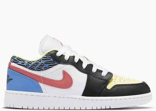 Nike Air Jordan 1 Low Children's Art (GS) DH5927 006 Hype Clothinga Limited Edition