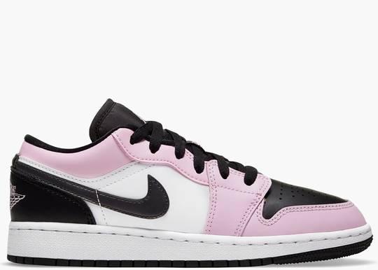Nike Air Jordan 1 Low Light Arctic Pink (GS) 554723-601 Hype Clothinga Limited Edition