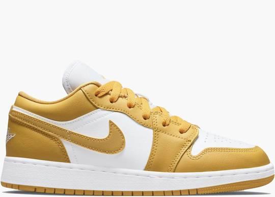 Nike Air Jordan 1 Low Mustard Pollen (GS)