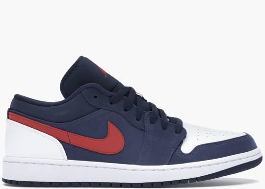 Nike Air Jordan 1 Low USA CZ8454-400 Hype Clothinga Limited Edition
