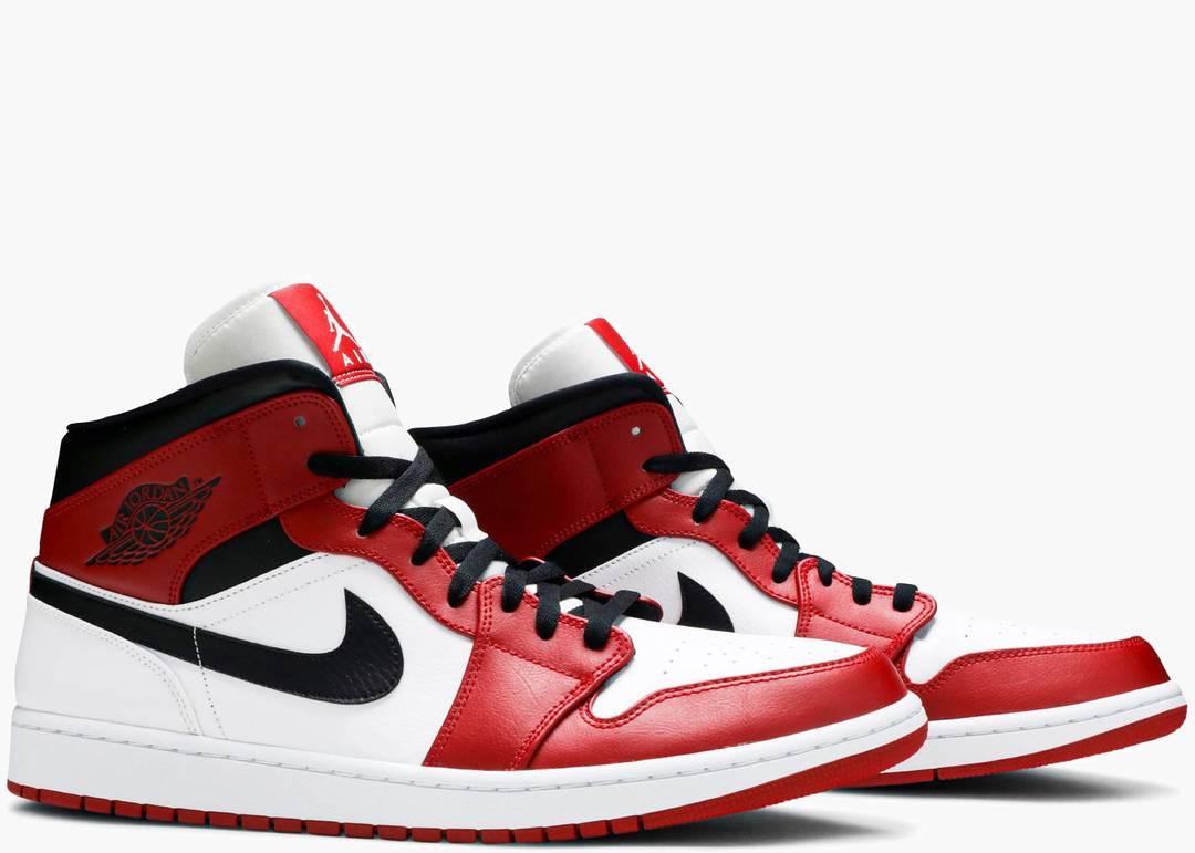 Nike Air Jordan 1 Mid Chicago White