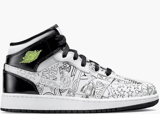 Nike Air Jordan 1 Mid SE DIY (GS)