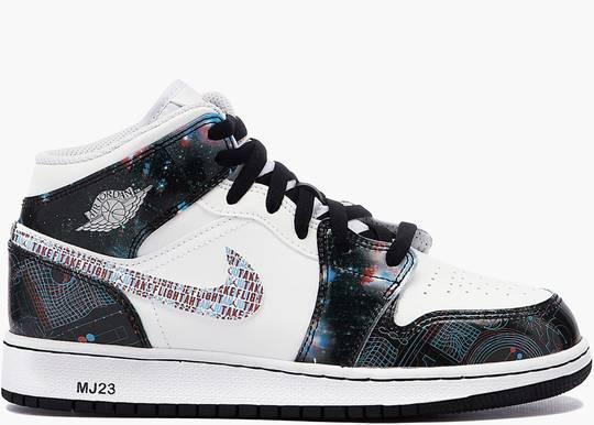 Nike Air Jordan 1 Mid SE Take Flight (GS)