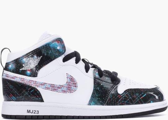 Nike Air Jordan 1 Mid SE Take Flight (PS)