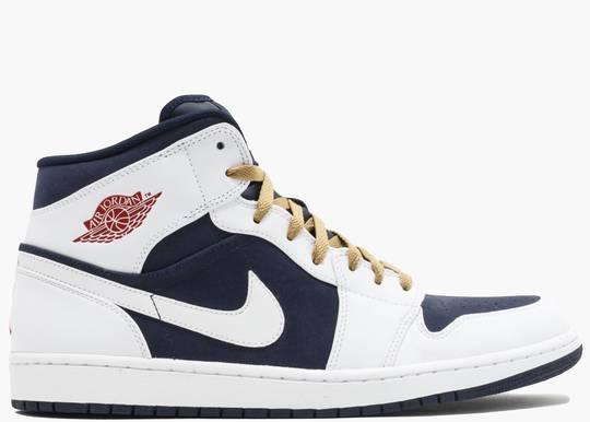 Nike Air Jordan 1 Phat Mid Olympic (2012) 364770-400 Hype Clothinga Limited Edition