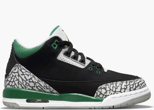 Nike Air Jordan 3 (GS) Retro Pine Green
