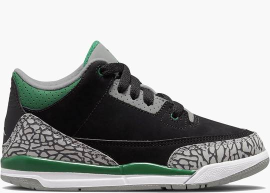 Nike Air Jordan 3 (PS) Retro Pine Green