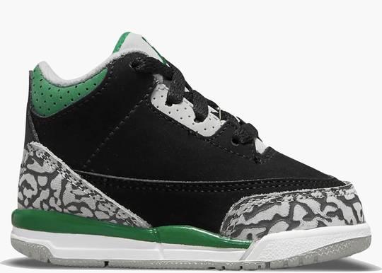 Nike Air Jordan 3 (TD) Retro Pine Green