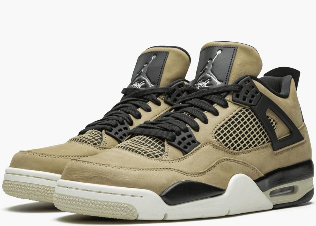 Nike Air Jordan 4 Retro Fossil Mushroom