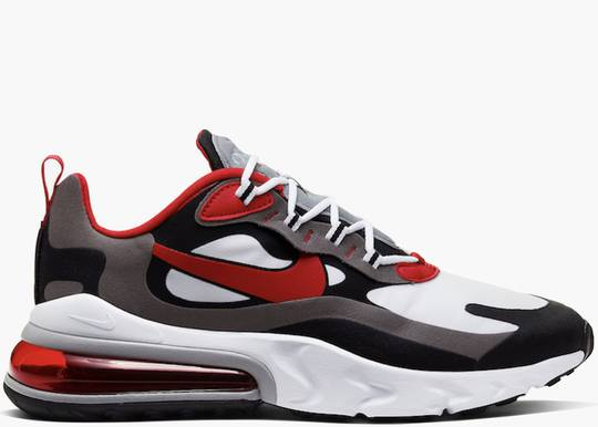 Nike Air Max 270 React Black Iron Grey University Red