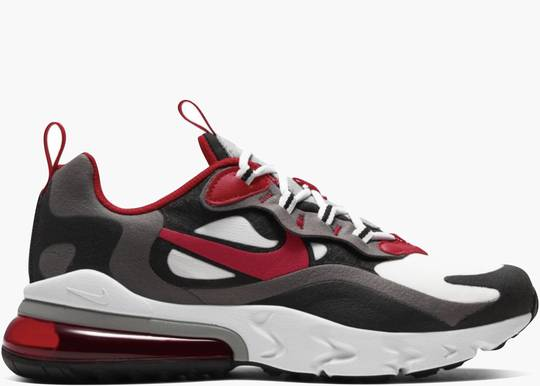 Nike Air Max 270 React (GS) Black Iron Grey University Red