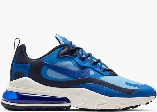Nike Air Max 270 React Triple Blue