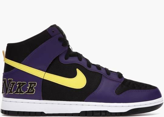 Nike Dunk High EMB Lakers Hype Clothinga