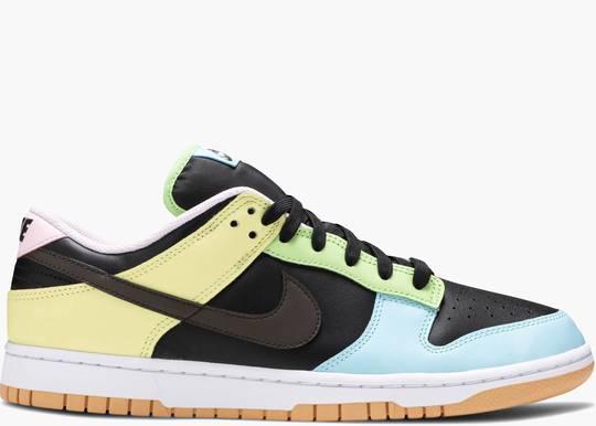 Nike Dunk Low Free 99 Black hype clothinga