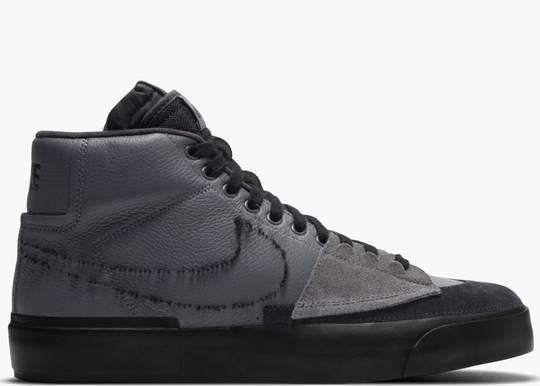Nike SB Zoom Blazer Mid Edge Iron Grey Hype Clothinga