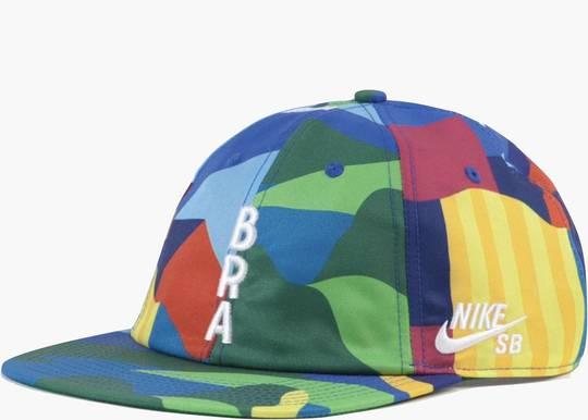 Nike SB x Parra Brazil Federation Kit Skate Cap