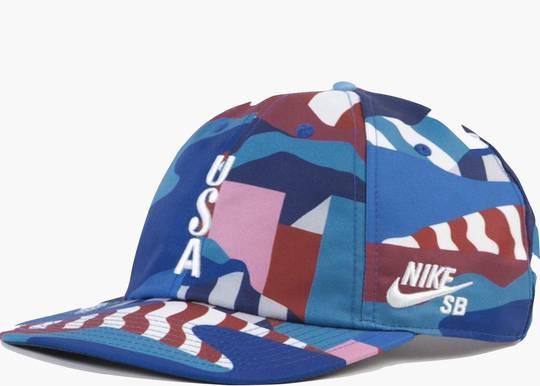 Nike SB x Parra USA Federation Kit Skate Cap