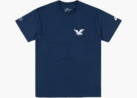 Nike SB x Parra USA Federation Kit T-shirt Brave Blue