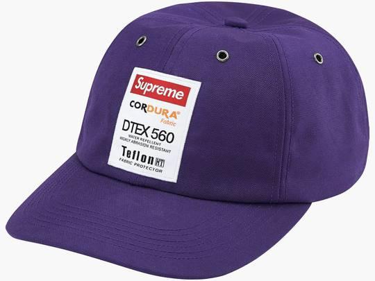 Supreme Cordura Teflon Label 6-Panel Dark Purple Hype Clothinga