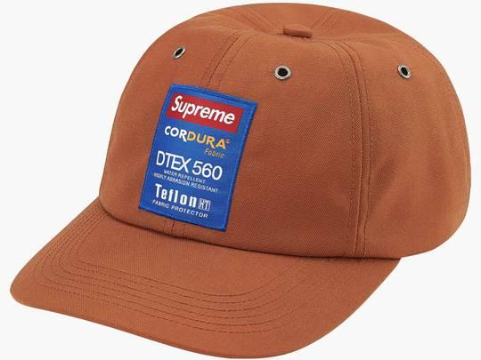 Supreme Cordura Teflon Label 6-Panel Rust Hype Clothinga