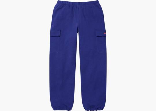 Supreme Small Box Cargo Sweatpant Dark Royal Hype Clothinga Limited Edition