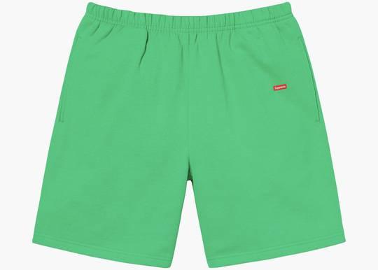 Supreme Small Box Sweatshort Green Hype Clothinga