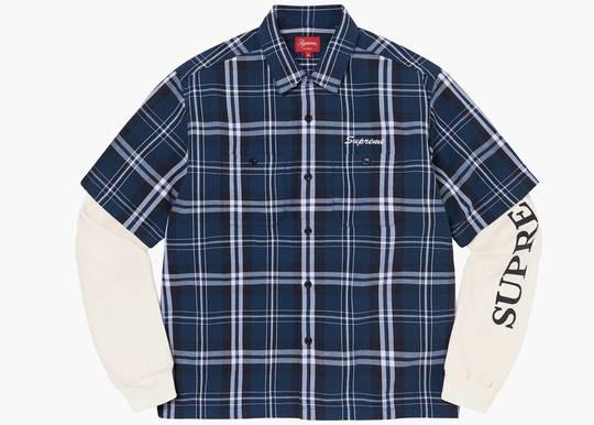Supreme Thermal Work Shirt Plaid Hype Clothinga Limited Edition