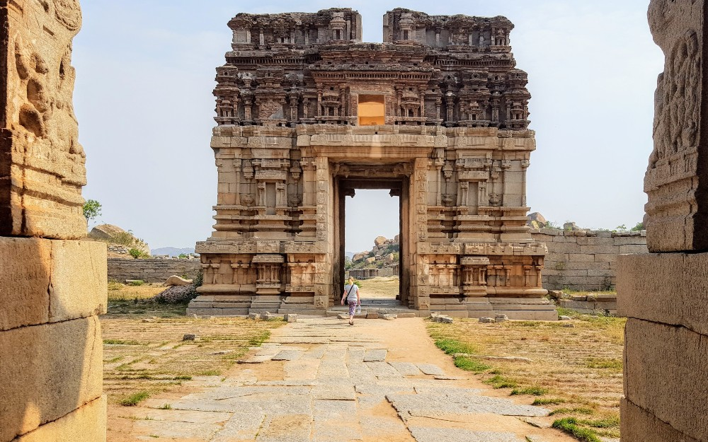The ruins of Hampi, India.
