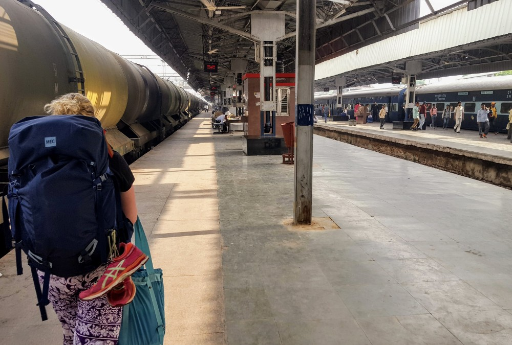 A train station in India. These could be particularly bad because most train toilets release directly onto the train tracks. You're not supposed to go number two while in the train station, but some people still do...