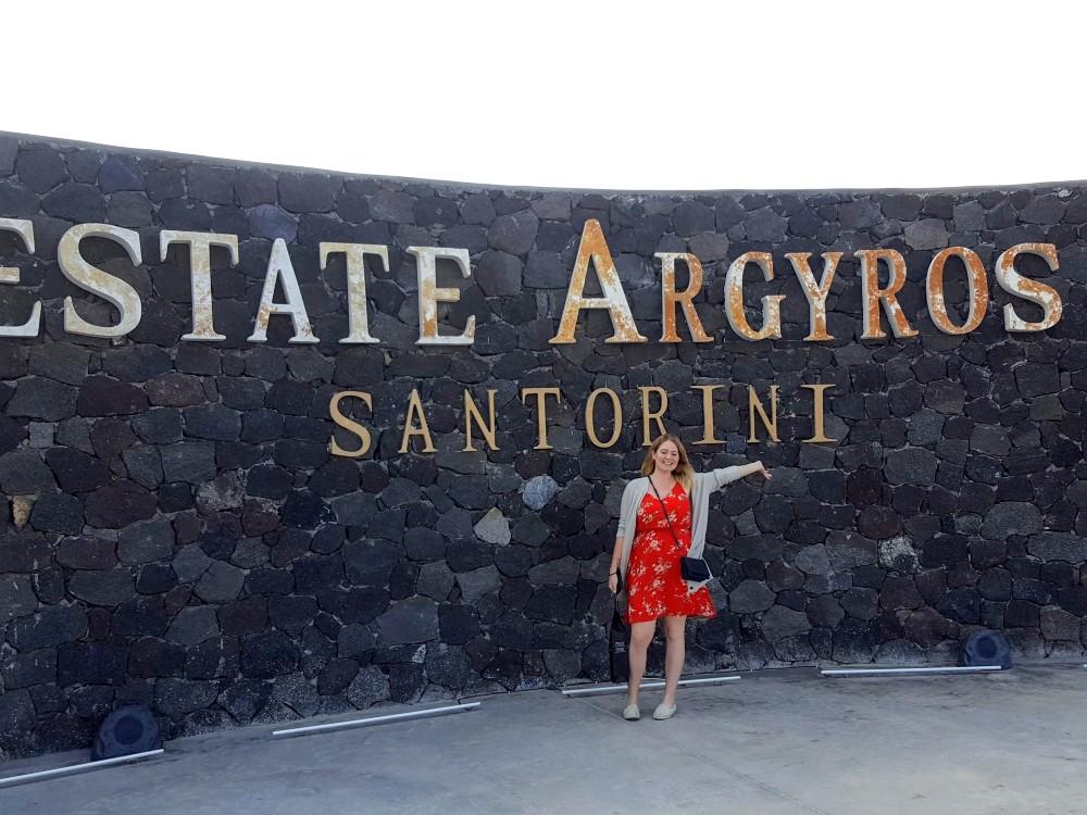 Estate Argyros on Santorini: the best wines in town!