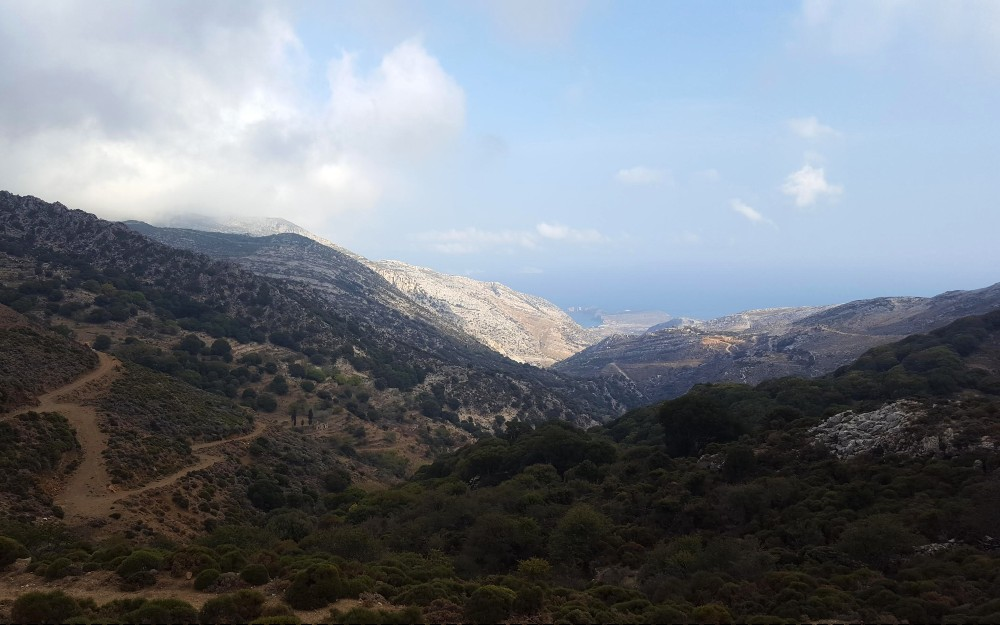 Naxos is an incredibly mountainous island, with tons of scenic roads.
