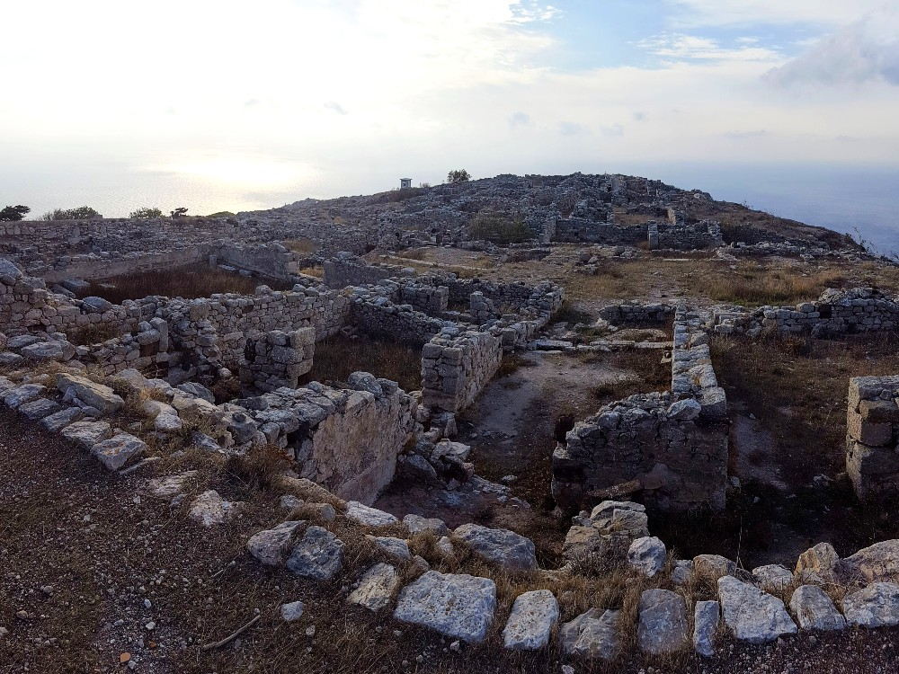 The sprawling ruins of Ancient Thera are totally worth checking out.