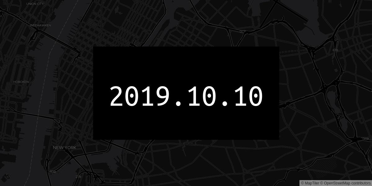 2019.10.10