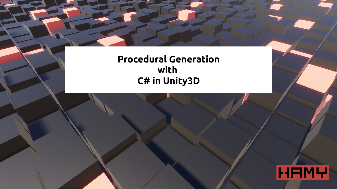 Procedural Generation in Unity