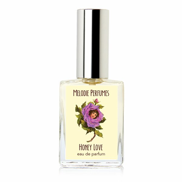 Melodie Perfumes Honey Love perfume for women. Golden floral honey women's fragrance. 15 ml