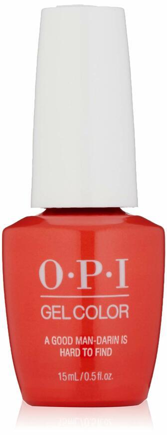 OPI GelColor, A Good Man-darin is Hard To Find, 0.5 Fl. Oz. gel nail polish
