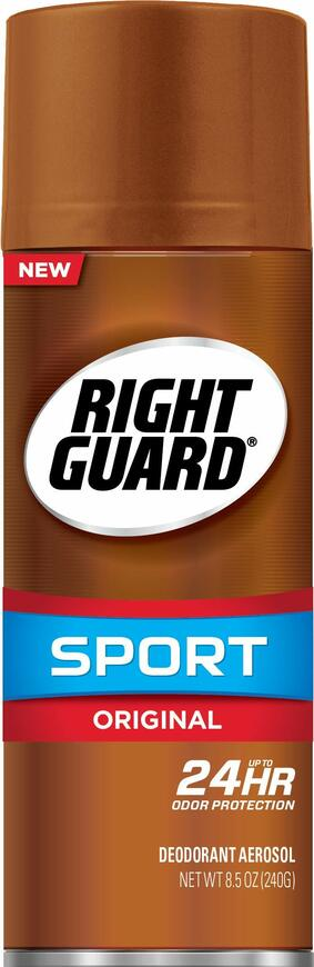Right Guard Sport Antiperspirant Deodorant Aerosol, Original, 8.5 Ounce (Pack of 12)