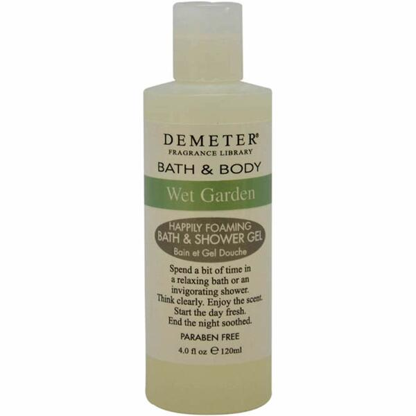 Wet Garden By Demeter For Women - 4 Oz Bath & Shower Gel