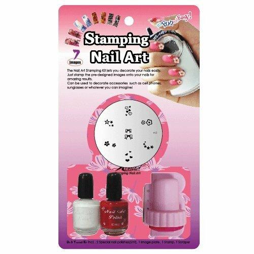 Konad Konad stamping nail art starter kit - d
