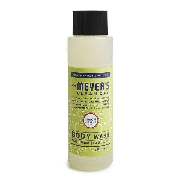 Mrs. Meyer's Body Wash,16 fl oz (Pack 2, Lemon Verbena