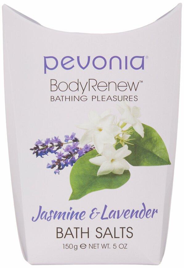 Pevonia BodyRenew Bath Salts, Jasmine & Lavender, 5 oz